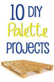 10 DIY Palette Projects  source img