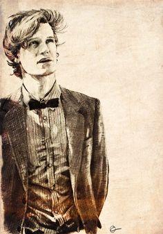 Matt Smith Doctor Sketch
