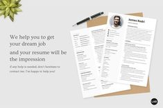 Resume CV Template Canva, Professional Modern Resume Template for Canva, Clean Modern Executive Resume Template, CV Template Easy to edit your resume Add, replace, remove, create new section Editable photo Change description based on your profession Cv Simple, Executive Resume Template, Creative Cv, Professional Cv, Modern Resume Template, Cv Design, Resume Cv, Im Happy, Dreaming Of You