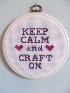 Would be so cute in my craft room!... in embroidery ....