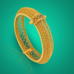 Discover latest collection of elegant Gold Kada designs at Waman Hari Pethe Sons. Gold Bangles Design, Gold Jewellery Design, Gold Jewelry, Jewelery, Jewelry Model, Modern Jewelry, Gold Mangalsutra, Antique Gold, Bridal Jewelry