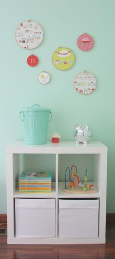 EXPEDIT Shelving Unit (now Kallax) makes a great toy storage!