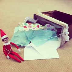 Oh no! Looks like our #elfonashelf caught someone throwing perfectly good paper in a trash can. Tisk tisk. Recycle Often. Recycle Right.