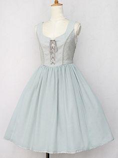Victorian maiden リーズルレースフェアリードレス