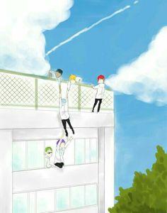 Desenhos Love, Kiseki No Sedai, Akakuro, Generation Of Miracles, Kuroko Tetsuya, Kuroko's Basketball, I Love Anime, Cute Gay, Haikyuu Anime