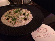 #bacchanalia #6courses #coconutrissoto
