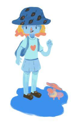 Hi, I accept Flat Design, Digital Media, Childrens Books, Smurfs, Colorful, Illustrations, Artwork, Cute, Fictional Characters