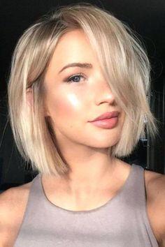 Short Medium Hairstyles 2018 13
