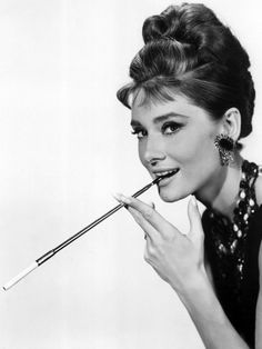 Audrey Hepburn in Breakfast at Tiffany's, 1961 Photo at AllPosters.com