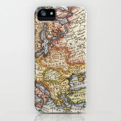 Vintage Maps iPhone Case