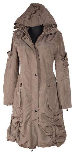 Damen jacke grau 48