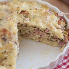 Scalloped Potatoes & Ham Casserole