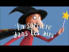 La sorcière dans les airs - movie trailer that can be used in the French classroom. Have students describe what they see or at least name some of the things in the scenes. French Songs, French Movies, French Teaching Resources, Teaching French, Movie Talk, French Kids, Film D, French Classroom, Halloween