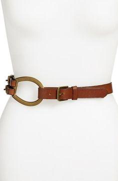Lauren Ralph Lauren Vachetta Leather Belt | Nordstrom