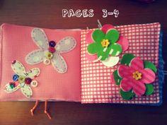 cute felt books (could turn ideas into a quiet book)