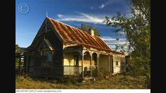 Abandoned farm house. Australia