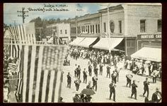 Blackfoot, Idaho. July 4, 1909.  #blackfoot #idaho #history #photo #historic Great Pictures, Old Pictures, Family Roots, Personal History, July 4th, Historical Photos, Idaho, Street View, Awesome