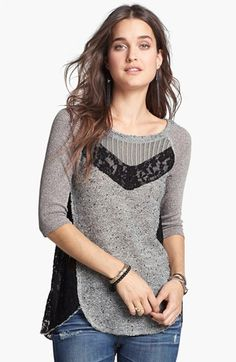 Free People 'Mix Up' Hacci Top | Nordstrom