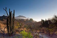 A house and the sunrise Querétaro México