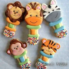 My Nana's Nibbles: creative baby rattle cookies