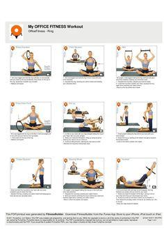 Basics Pilates Ring Workouts Exercise Fitness Training