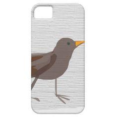 Amsel Bird blackbird SIRAdesign iPhone 5 Case