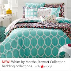 New! Whim by Martha Stewart Collection, bedding collections, only Macy's
