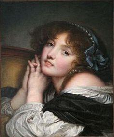 Jeune fille aux mains jointes - 1780