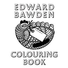 Edward Bawden Colouring Book (Paperback).This is a fun book.