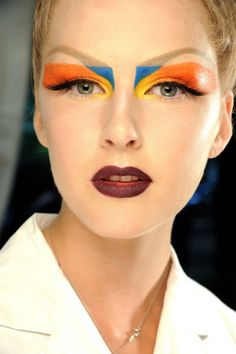 John Galliano & Dior Makeup looks - Vogue Australia