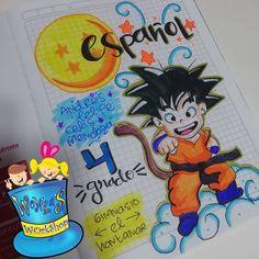 Kawaii Wallpaper, Border Design, Hama Beads, Goku, Lettering, Diy, Color, Creative Notebooks, Sketchbook Cover