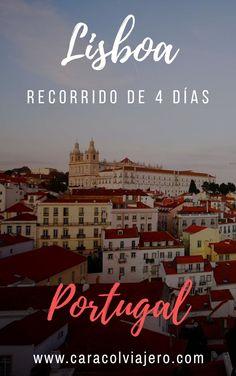 4 días de recorrido por la capital portuguesa incluye escapada a Sintra #Portugal #Lisboa #viajes Places To Travel, Travel Destinations, Travel Tips, Places To Visit, Celebration Quotes, Running Away, Backpacking, Sintra Portugal, Architecture Design