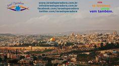 Jerusalem em uma linda vista panorâmica.
