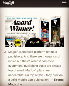 Best Mobile, Magazine Art, Digital Media, Magazines, Ios, Campaign, Things To Come, Android, Medium