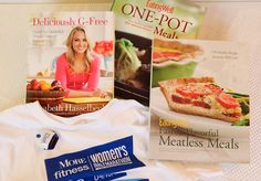Healthy Living Prize Package with cookbooks from @EatingWell Magazine !