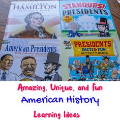 Dover Publications offers one of a kind American history resource making teaching so much easier for parents and teachers to teach. Us History, European History, American History, Presidents Book, American Presidents, President Facts, Book Activities, Coloring Books, Study