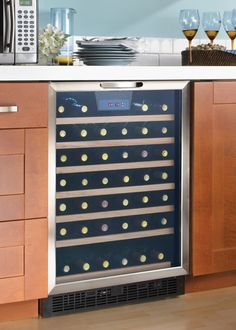 Danby Wine Coolers DWC508BLS.  Built-in Wine fridge. Great with any home decor