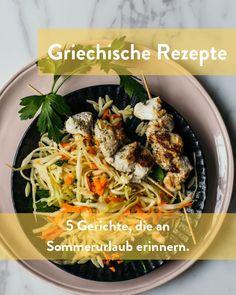 Griechische Rezepte für zu Hause Marley Spoon, Japchae, Ethnic Recipes, Food, Greek Recipes, Easy Meals, Cooking, Food Food, House