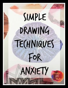10 Positive Cool Ideas: Anxiety Bible Verses Quotes anxiety tips young living.Stress Management For Women stress relief tips ideas.Stress Relief Techniques Self Massage. Art Therapy Projects, Art Therapy Activities, Therapy Tools, Play Therapy, Therapy Ideas, Anxiety Activities, Therapy Journal, Dementia Activities, Speech Therapy