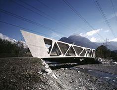 Alfenz Bridge / Marte Marte Architects Cortesía de Marte Marte Architects