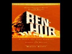 """My absolute favorite soundtrack, to go with an epic movie.  Ben-Hur soundtrack by Miklós Rósza. One of my favorite films and absolutely my FAVORITE film score!! I get goosebumps just hearing the overture. Well I do that at the beginning of """"Wizard of Oz"""" too!! But this is my favorite:)"""