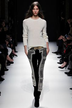 ★ fall 2012 ready-to-wear Balmain Runway in Paris #Fashion