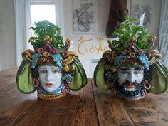 #testemori #caltagirone #sicilia #ceramica #vasi #contemporaryart #homedecor #homedesign
