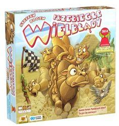 Przebiegłe wielbłądy - gra planszowa