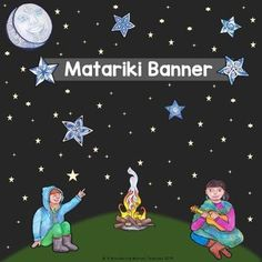The reappearance of the Matariki cluster in the sky signals the Maori new year. It often happens in late May or early June. In the northern hemisphere it is the star cluster known as Pleaides or Subaru in Japan. It is a time when many people celebrate with their whanau (family) and friends by gathering together to share kai (food). Many people use this time to create goals for the upcoming year. This triangular banner will be a great addition to your Matariki celebrations and decorations. Helix Nebula, Orion Nebula, Andromeda Galaxy, Pendant Banner, Carina Nebula, Hubble Images, Star Formation, Whirlpool Galaxy, Star Cluster