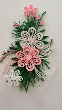 Quilling Flowers Tutorial, Paper Quilling Flowers, Paper Quilling Cards, Paper Quilling Patterns, Quilled Paper Art, Quilling Paper Craft, Quilling 3d, Quilling Videos, Quilling Techniques