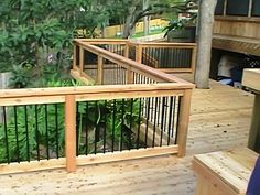 mission style fencing | Decks, Patios, Arbors, Pergolas & Patio Covers, Porches
