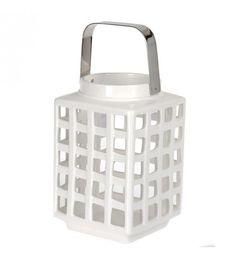 Black and white Monochromatyczny look White Lanterns, Lanterns Decor, Home Living, Plastic Laundry Basket, Tea Lights, Black And White, Home Decor, Decoration, House