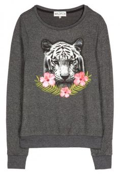 Wildfox, Sweatshirt - clean black, http://www.emeza.de/wildfox-sweatshirt-clean-black-wi321i01t-801.html