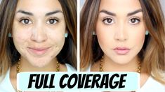 FULL Coverage Foundation Routine - Must have products for me!